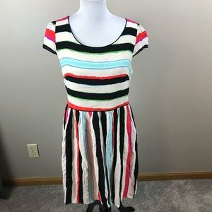 Anthropologie Maeve Striped Dress
